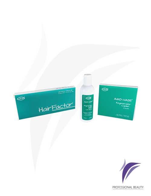Kit Hair Factor Regenerador Capilar: Kit de tratamiento intensivo que promueve el crecimiento capilar y contrarresta la alopecia.