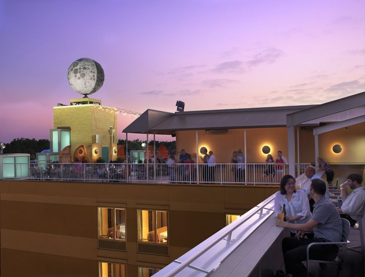 The Rooftop Terrace Bar Is Located At The Eclipse Restaurant And Moonrise  Hotel In St.