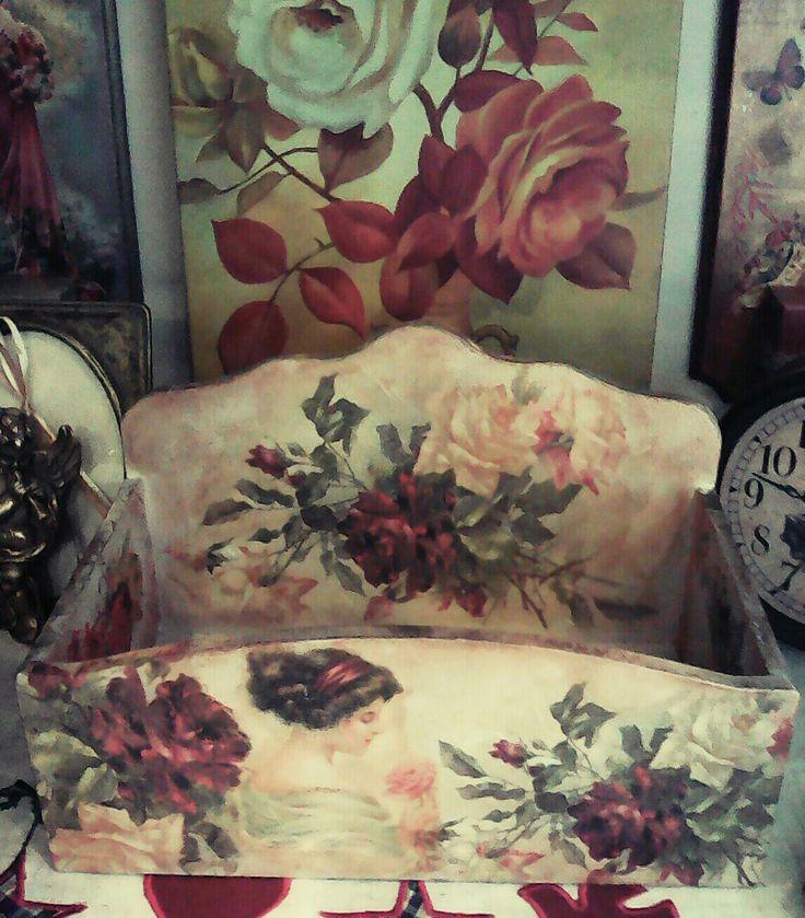Handmade # vintage # love 💛💛💛