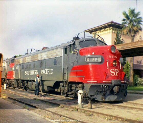 45 Best Images About Southern Pacific Railroad On Pinterest