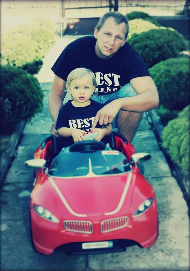 Best Friends❤💙 tata i córka 😍