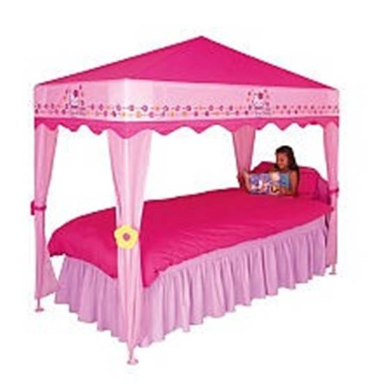 ... bedroom canopy for girls bedroom hello kitty bedroom hello kitty...Ava loves this!!! Though she just decided she wants a blue room w/ sun and clouds...SMILE