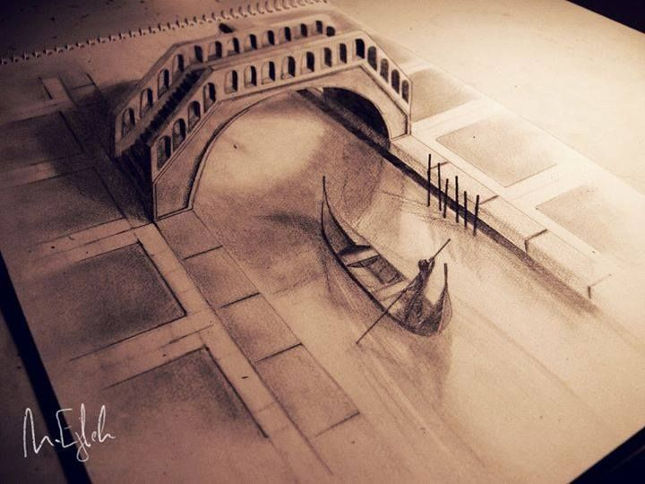 Venice 3D drawing By Muhammad Ejleh ...