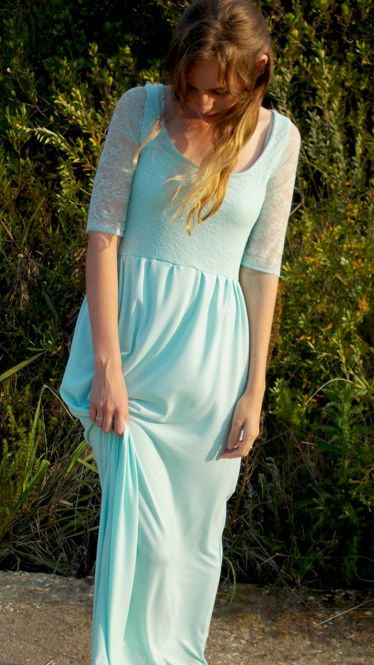 The Kiba dress! by robyn-anne designs Mint