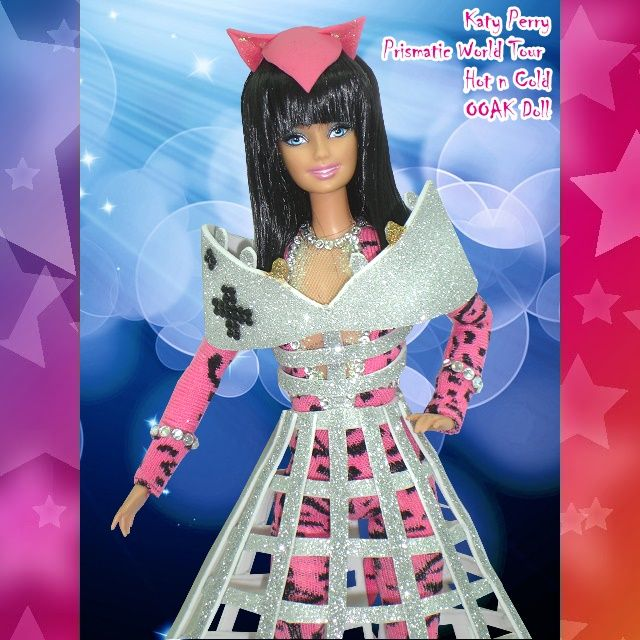 Katy Perry Prismatic World Tour Hot n Cold OOAK Doll