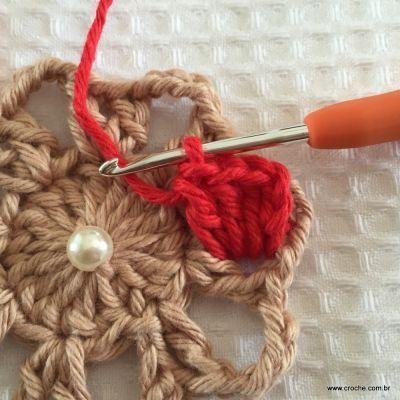 Flor coração passo a passo - croche.com (20)