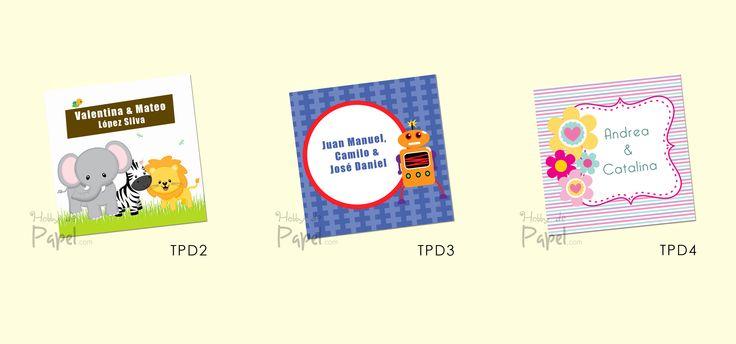 Tarjetas personales para niños 6