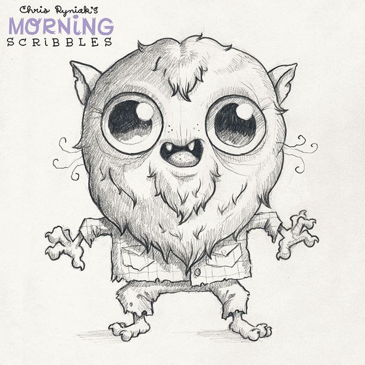 Wolfkid! #morningscribbles #halloween #october   Cute ...
