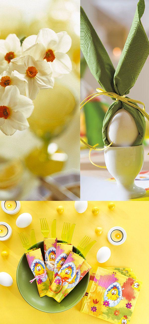 easter decorations - fold a napkinbunny