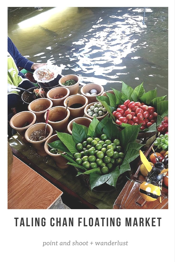 Taling Chan Floating Market and Boat Tour | Bangkok, Thailand