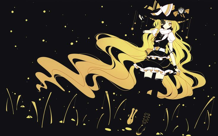 Blonde Anime Witch Wallpaper Related Keywords & Suggestions - Blonde Anime Witch Wallpaper Long Tail Keywords
