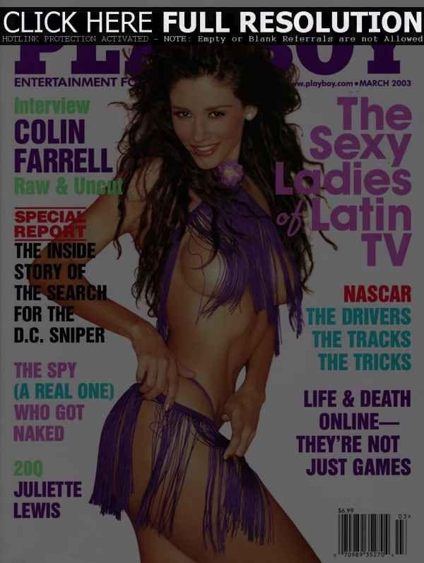 #Playboy March 2003