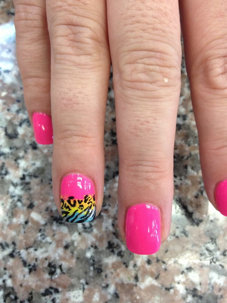 35 Best Images About Cute Bright Nail Designs On Pinterest