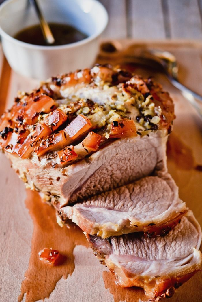 how to cook a pork roast in a roaster