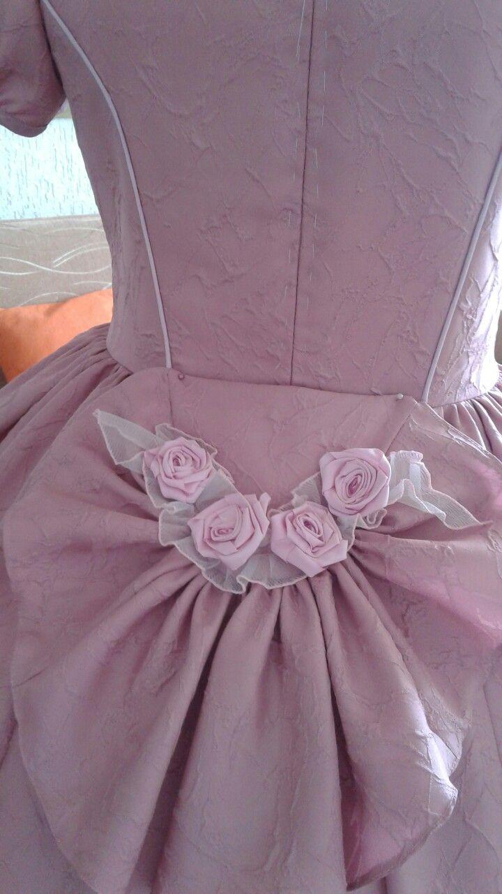 Różowa tył
