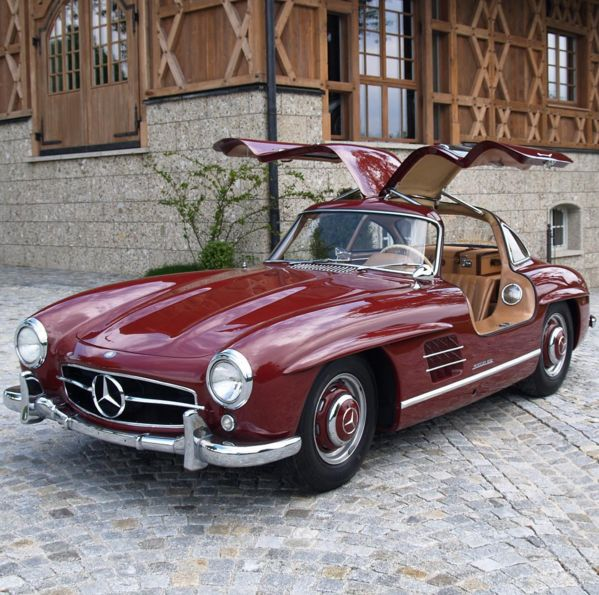 1956 Mercedes Benz #300SL #Gullwing (Source: instagram.com/gentlemanmodern) Upon special request we also do #300SL restorations: http://www.bruceadams190sl.com/project/1957-300-sl-nagelberg/