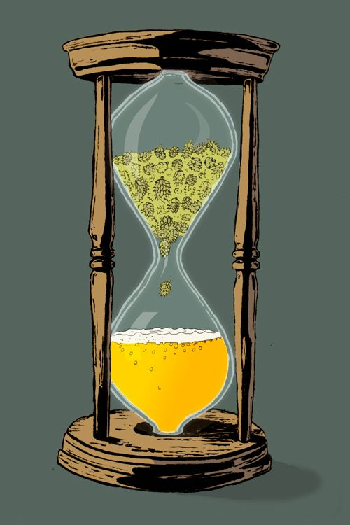 El reloj de un cervecero