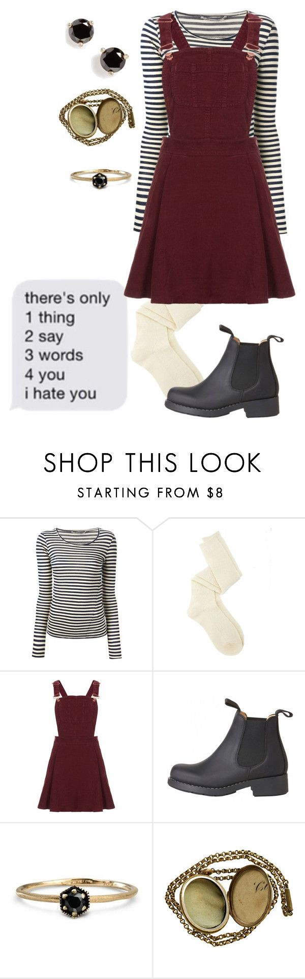 """i hate you"" by dreams-of-a-samurai ❤ liked on Polyvore featuring Humanoid, Charlotte Russe, Topshop, Coven, Satomi Kawakita and Kate Spade"
