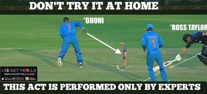 #INDvsNZ #4thODI #TeamIndia #MSDhoni  Hitting wicket without watching only MS Dhoni can do this! - http://ift.tt/1ZZ3e4d