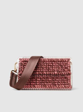 6bbc31b3aa7 0711 - St.Tropez Knitted and Plexiglass Shoulder Bag   Bag Habit in ...