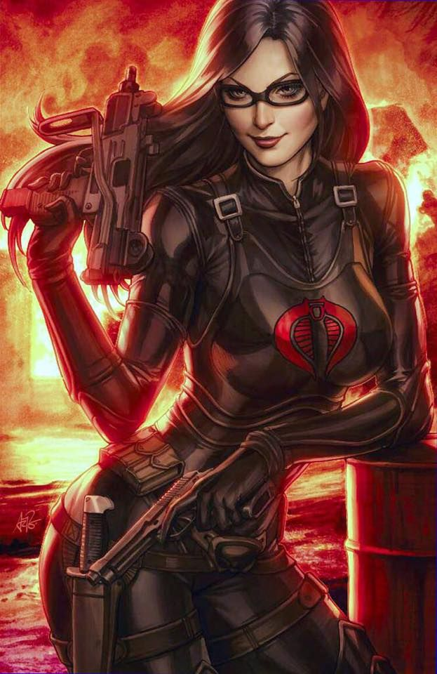 Cobra - The Baroness by Artgerm | Stanley Lau *___®__!!!!