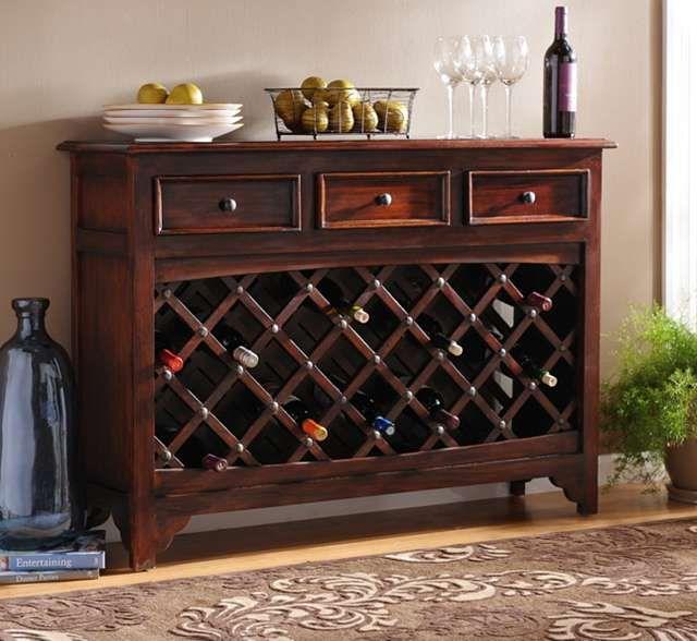 Wood Syrah Wine Cabinet   Wine storage cabinets, Wine ...