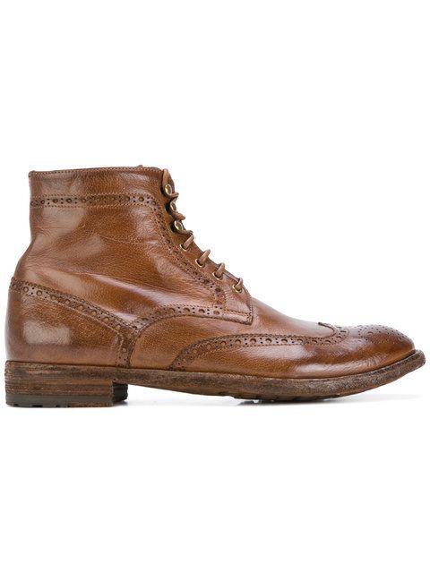 Shop Officine Creative ankle boots.