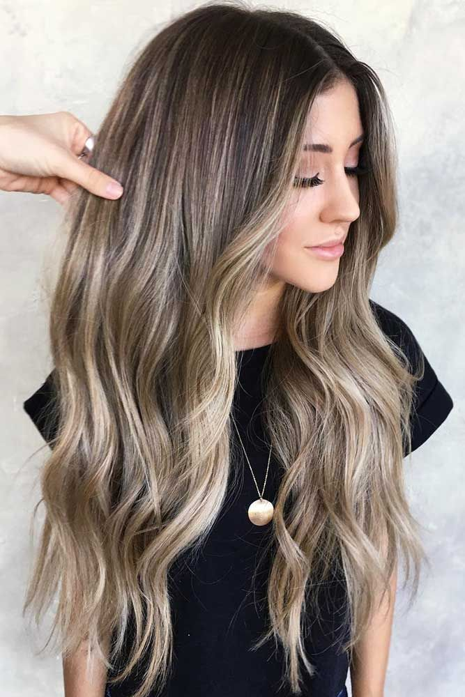 40 Ideas To Freshen Up Your Hair Color With Partial