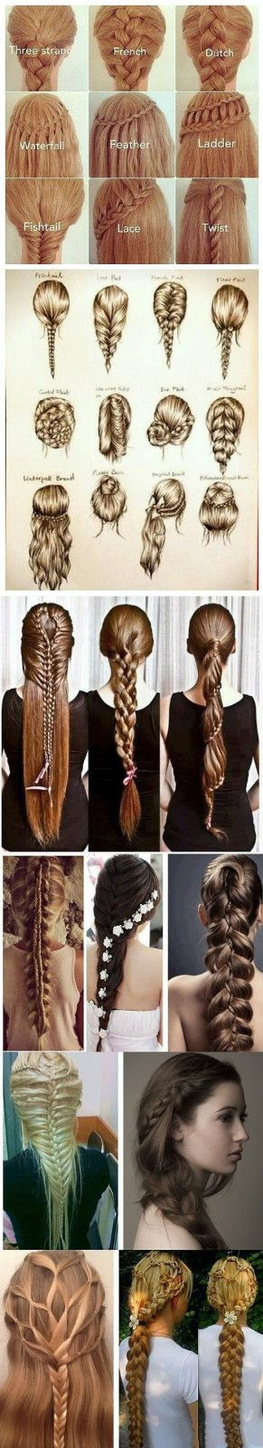 all kinds of braid weaving...it's enough for you to weave one kind for one day!
