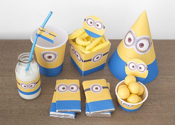 Kit fiesta gratis Minions