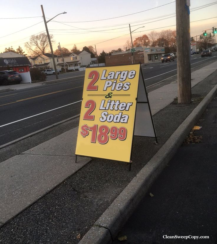Pies, yes ... litter soda, NO.  #SignFail #spelling #typo #humor