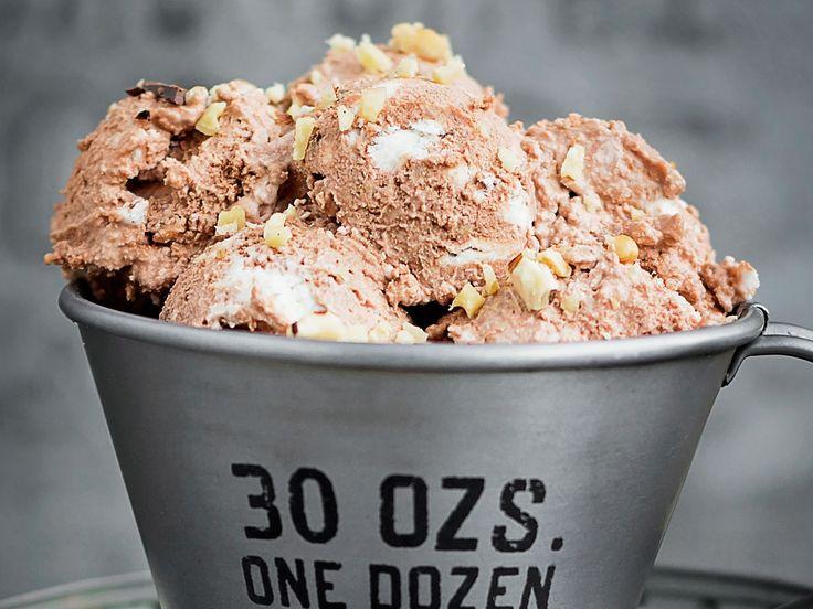 Nutella-Eis mit zwei Zutaten - einfach, schnell, lecker!