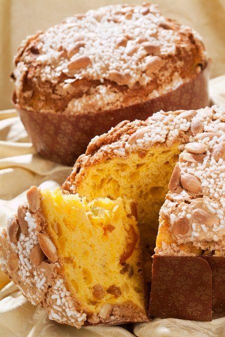 Christmas Cake Traditionally Eaten In Italy