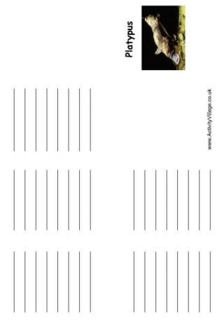 Platypus Booklet
