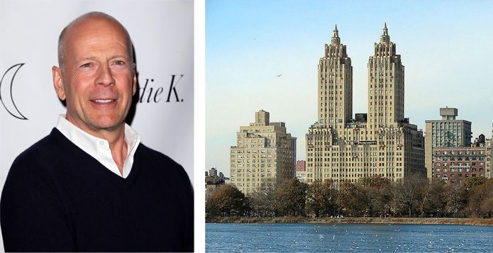 Bruce Willis Manhattan Apartment For Sale - Celebrity Real Estate In Manhattan - ELLE DECOR