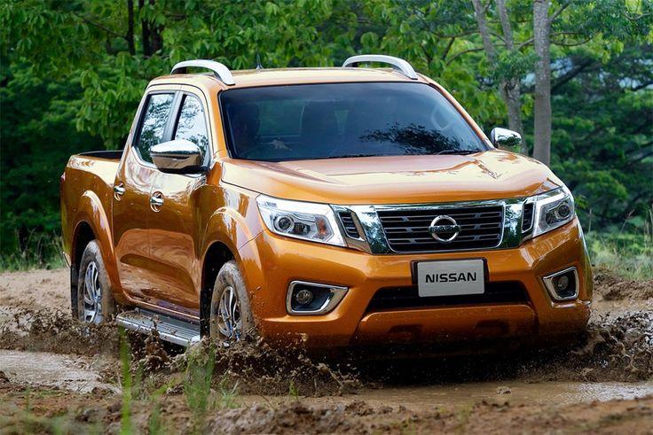 The new generation of pickup Nissan Navara 2015-2016 model year the Japanese…
