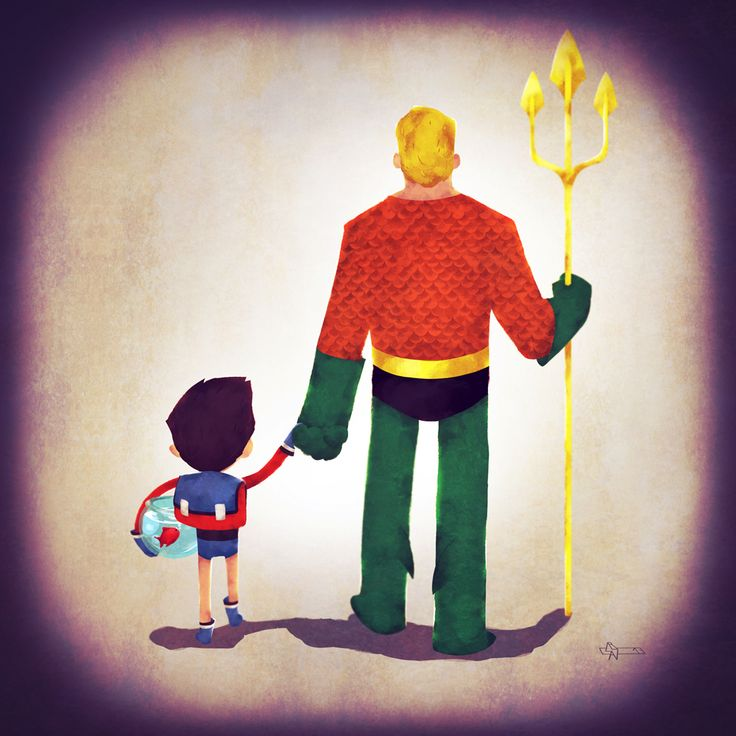 Superhero Father's (and Mother's) Day from Andry Shango - News - GeekTyrant
