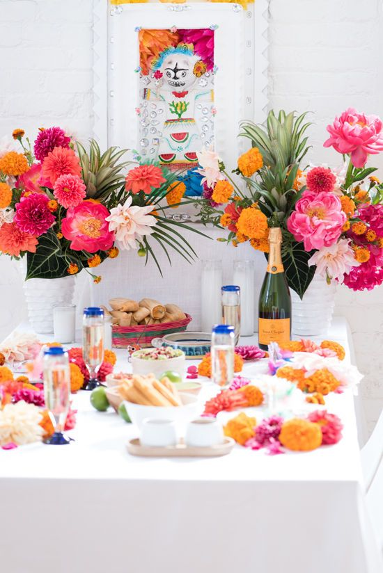 Table spread for a fiesta bachelorette party?