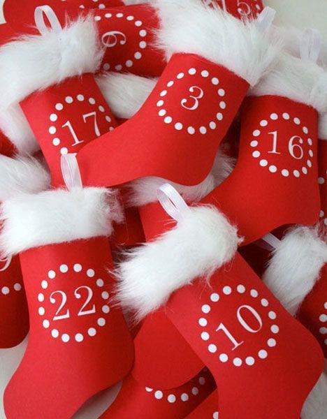 8 sjove og kreative måder at tælle ned til jul på ♥