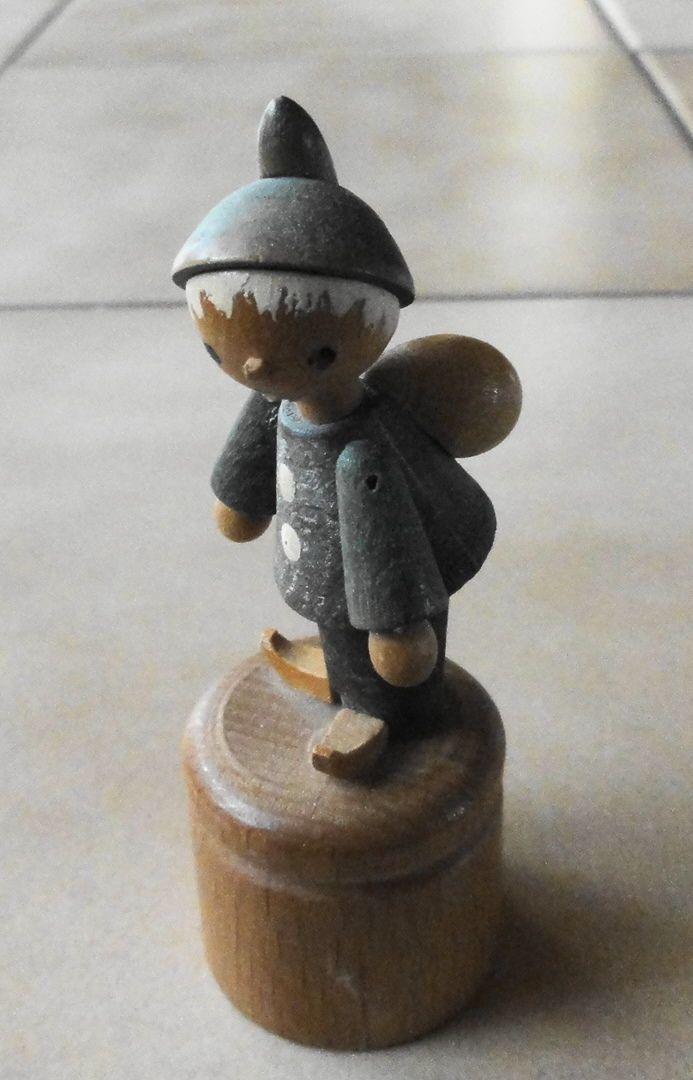 Sandmann Sandmännchen Wackelfigur Holz Erzgebirge Figur | eBay