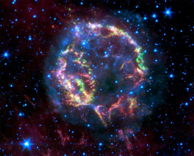 See images from NASA's infrared Spitzer Space Telescope.