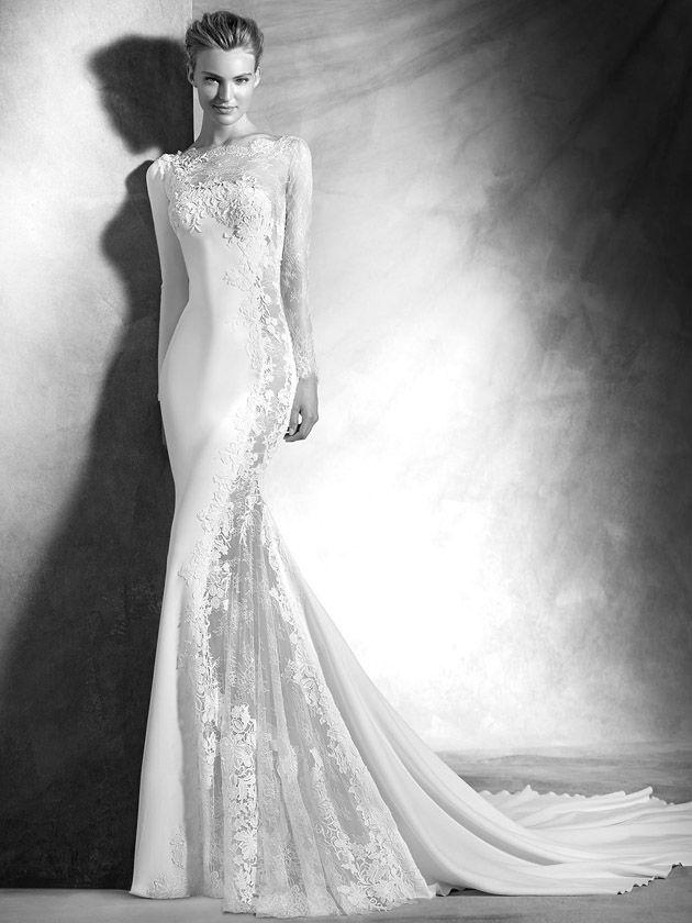 90 besten Bridal gown Bilder auf Pinterest   Braut, Schlitz ...