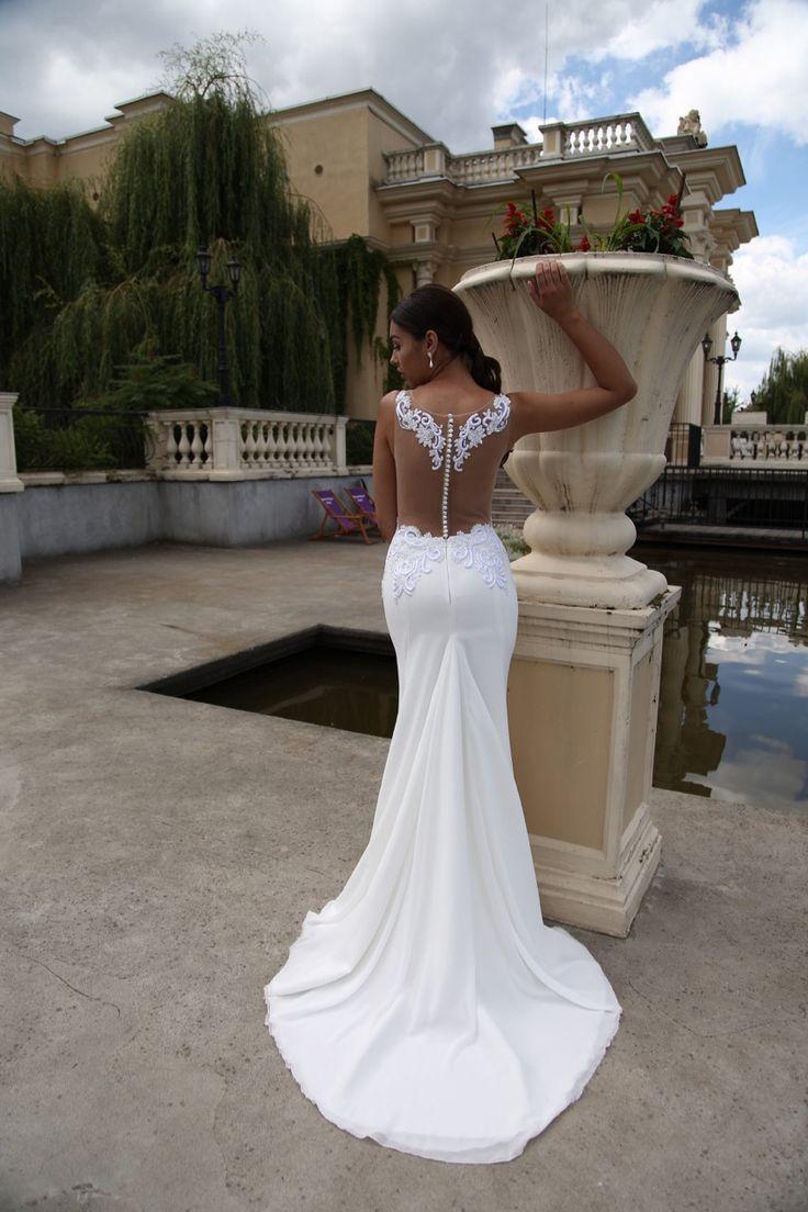 Suknia ślubna Milana - niezwykle kobieca i seksowna, dostępna w Galerii Ślubu Kamea