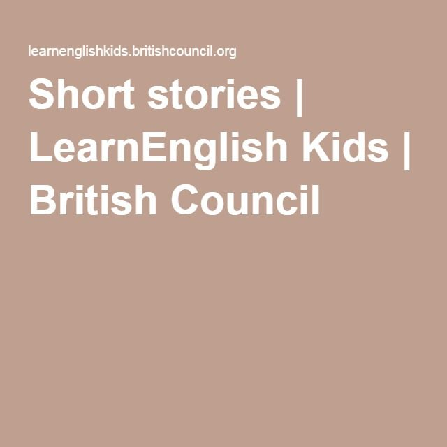 Short stories | LearnEnglish Kids | British Council