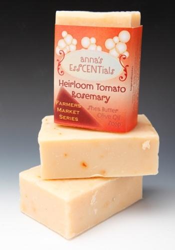 Sharon K. Lombardo - heirloom tomato and rosemary soapOlive Oil