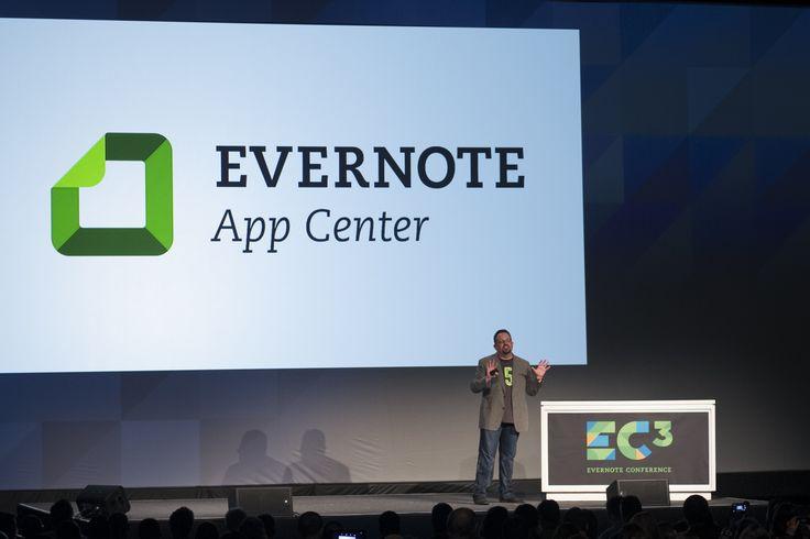 EC3 - #EC2013: Phil Libin announcing our brand new Evernote App Center