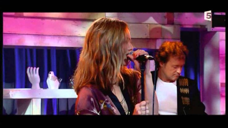 Vanessa Paradis - Love Song (Live France 5 TV)