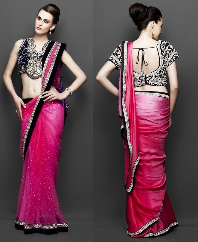 1000+ Ideas About Saree Draping Styles On Pinterest