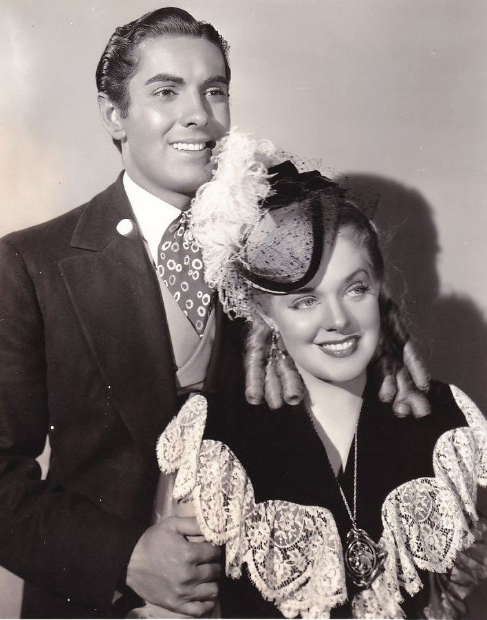 Tyrone Power and Alice Faye in In Old Chicago (1937)