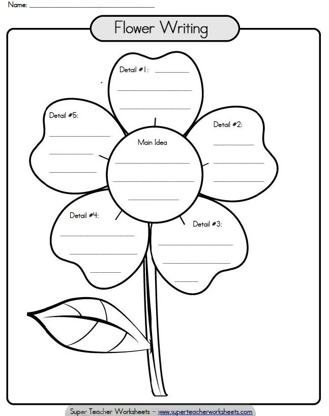34 best images about Reading and Writing Super Teacher – Super Teacher Worksheets Main Idea